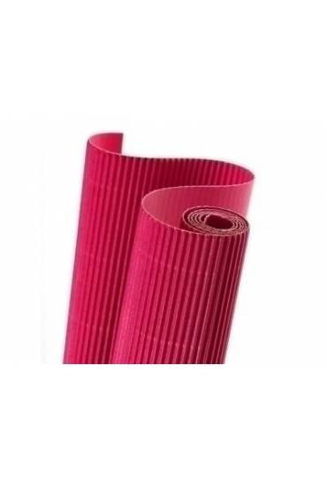 Rollo carton ondulado Canson 50x70 rosa vivo