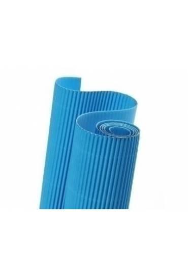 Rollo carton ondulado Canson 50x70 azul turquesa