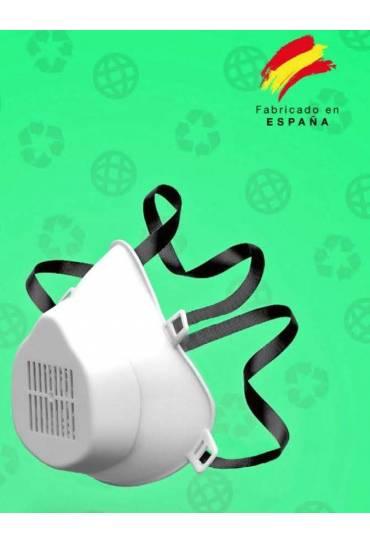 Mascarilla higienica reutilizable con 10 filtros