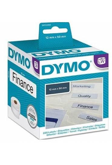 Rollo 220 etiquetas Dymo LW 12x50mm