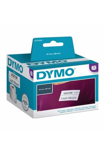 Rollo 300 Etiquetas Dymo LW 41x89mm S0722560