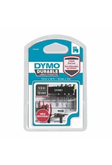 Cinta Dymo D1 12mmx3m durable negro 1978365