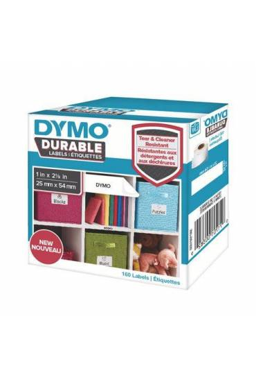 Rollo 160 etiquetas Dymo Durable 25x54  blanco  19