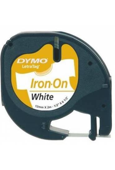 Cinta Dymo Letratag para ropa 12mm x 2m