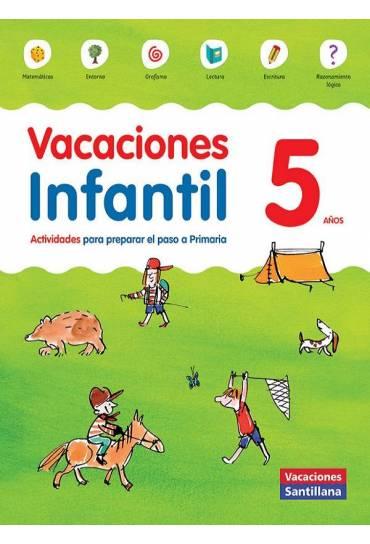 Libro vacaciones santillana infantil 5 años