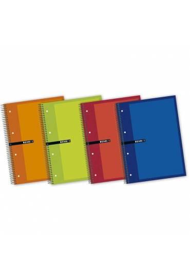 Cuaderno Enri A4+ 160 hojas rallado