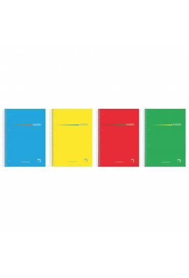 Cuaderno 160h Pacsa Premium 5x5 70grms surtidos