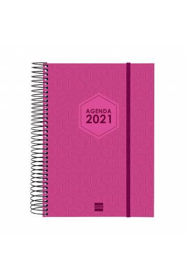 Agenda finocam Futura E10 155x215 D/P rosa