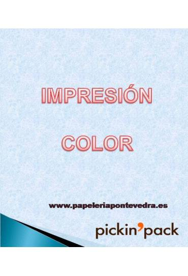 Impresion en color